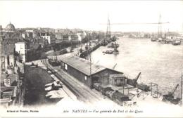 FR44 NANTES - Artaud 220 - Vue Générale Du Port Et Les Quais - Belle - Nantes