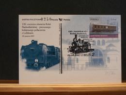 75/760  CP  POLOGNE  2007 - Trains