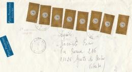 St.Post.4630 - STORIA POSTALE - Parte Frontespizio Di Bustone Viaggiato In Tariffa 4° Porto Prioritario L' 8.1.2000 - 6. 1946-.. Republik