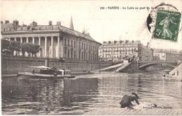 FR44 NANTES - Artaud 230 - La Loire Au Pont De La Bourse - Animée - Belle - Nantes