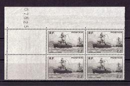 BLOC DE QUATRE  N* 752 ( Numéroté 07525) NEUF** - Unused Stamps