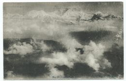 Postcard India Himalayas Mountains Cloud Effect. A Hefferan Darjeeling.unused - Indien