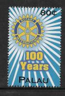 Palau 100 Years Rotary International 1v Stamp MNH - Famous People