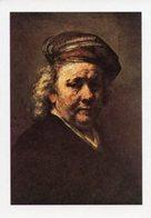 Cartolina AUTORITRATTO Di REMBRANDS Le Haye, Mauritshius - PERFETTA P24 - Pittura & Quadri