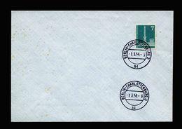 A5363) Berlin Blankoumschlag FDC Mi.135 Stempel 1.3.56 - Briefe U. Dokumente