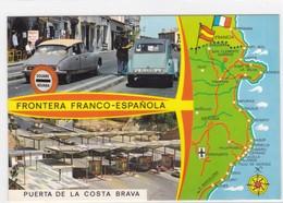 Espagne - Frontera Franco-Espanola - Puesta De La Costa Brava - Espagne