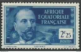 AFRIQUE EQUATORIALE FRANCAISE - AEF - A.E.F. - 1939 - YT 85** - MNH - A.E.F. (1936-1958)
