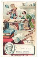 Chromo Chocolat Aiguebelle : Berzélius, Laboratoire, Chimiste Suédois - Aiguebelle