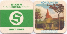 #D201-285 Viltje Sixenbräu - Sous-bocks