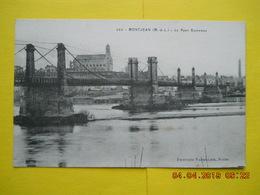 Montjean ,pont - France