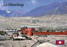 1 AK Nepal * Lo Manthang Hauptort Des Ehemaligen Königreiches Mustang Im Himalaya * - Nepal