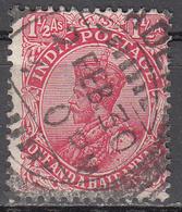 INDIA   SCOTT NO. 109     USED   YEAR  1926   WMK  196 - 1911-35 King George V