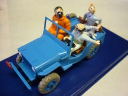 TINTIN & MILOU Boite D' Origine Avec Capitaine HADDOCK & Tryphon TOURNESOL OBJECTIF LUNE Voir 5 Photos - Tintin