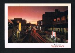 GEORGETOWN - MALAYSIA - Beautiful City Scene At Dusk,Penang - Voyagée 1999 - Scans Recto Verso-Paypal Free - Malaysia
