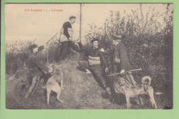 A La Frontière : L'Attaque. N° 5. Douanes, Douanier. 2 Scans. Edition Bautmont - Dogana