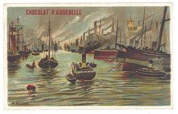 Chromo Chocolat Aiguebelle : Port De Glasgow ( Ecosse ) - Aiguebelle