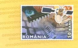 822  Satellite, Graphique Par Ordinateur: PAP 2005 - Computer Graphics, Digital Code, Eye: Postal Stationery Cover - Informatik