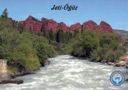 1 AK Kirgistan * Jeti-Ögüz-Felsen Ein Geologisches Schutzgebiet (Naturdenkmal) Eine Einzigartige Geologische Formation * - Kyrgyzstan