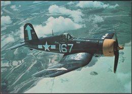 Confederate Air Force Vought F4U-4 Corsair - After The Battle Postcard - 1939-1945: 2nd War
