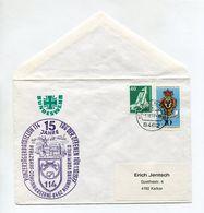 BRD UMSCHLAG 1977 BUNDESWEHR 15 J. PANZERJAGERBATAILLON 114 NEUNBURG - [7] Federal Republic