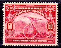 Honduras-0038 - Posta Aerea 1929 (+) Hinged - - Honduras