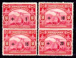 Honduras-0039 - Posta Aerea 1929 (+) Hinged - - Honduras
