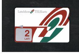 LETTONIA (LATVIA) -        1996 LOGO 2                                 -  USED - RIF. 10573 - Latvia