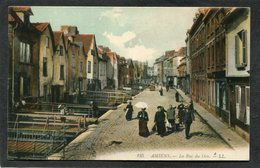 CPA - AMIENS - Rue Du Don, Animé - Amiens