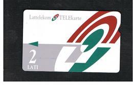 LETTONIA (LATVIA) -        1996 LOGO 2                                 -  USED - RIF. 10576 - Latvia