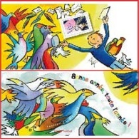 France - Feuillet Bloc Souvenir N° 100 ** Bonne Année 2015 - Oiseaux - Lettres - - Foglietti Commemorativi