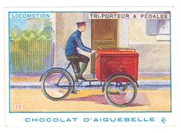 Chromo Chocolat Aiguebelle ( Donzère ) : Locomotion, Tri-porteur à Pédales - Aiguebelle