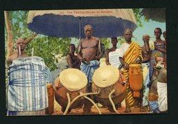 CPA:  NIGERIA - THE TALKING-DRUMS OF ASHANTI - Nigeria