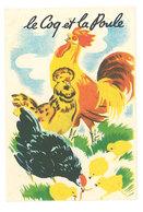 Chromo Le Coq Et La Poule ( Sucre Vanilliné Ancel ) - Autres