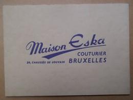Kalender 1953 Maison Eska Bruxelles - Kalenders