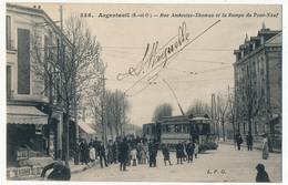 CPA - ARGENTEUIL (VAL D'OISE) - Rue Ambroise Thomas Et La Rampe Du Pont-Neuf - Argenteuil