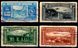 Honduras-0041 - Posta Aerea 1935 (o) Used - - Honduras