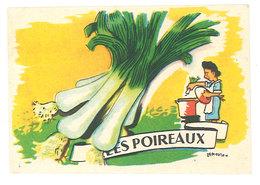 Chromo Les Poireaux   ( Sucre Vanilliné Ancel ) - Autres