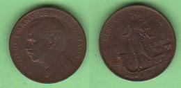 1 Centesimo 1914  Donna Su Prora - 1861-1946 : Royaume
