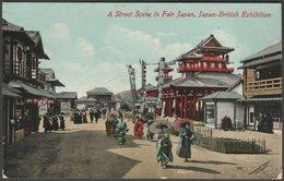 A Street Scene In Fair Japan, Japan-British Exhibition, 1910 - Valentine's Postcard - Exhibitions