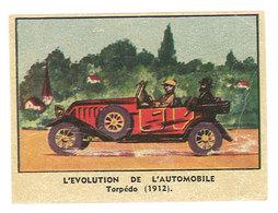 Chromo Chocolat De L'Union - Evolution De L'automobile, Torpédo 1912 - Autres