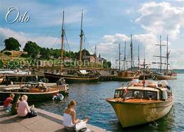72615521 Oslo Norwegen Oslo Han Med Akershus Festning Og Slott Aalesund - Norvège