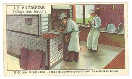 Chromo Blédine Jacquemaire - Le Patissier, Taillage Des Biscuits - Autres