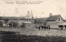 Hoogstraten / Maison De Refuse / Toevluchtshuis - Een Deel Der Hoeve Met Paarden - 1907 - Hoogstraten