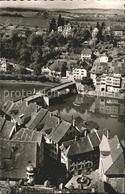 72077978 Laufenburg Baden Blick Von Der Schweiz Rheinbruecke Und Das Deutsche La - Germany