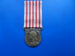 Medaille  Commemorative 14-18 , Medaille France WW1  , Medaille - Frankreich