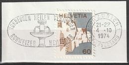 Svizzera: VORBEUGEN HEILEN VERJUNGEN - SCHWEIZER - ZURIGO 4-10-1974 - Svizzera
