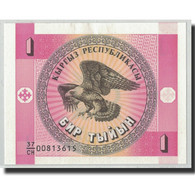 Billet, KYRGYZSTAN, 1 Tyiyn, Undated (1993), KM:1, NEUF - Kirghizistan