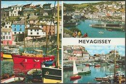 Multiview, Mevagissey, Cornwall, C.1970s - John Hinde Postcard - England