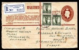 A5369) Australien R-Brief 22.9.50 N. Rohrbach / Germany - 1937-52 George VI