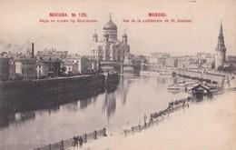 Carte Postale :  Moscou  (Russie )      Vue De La Cathédrale De St Sauveur - Rusland
